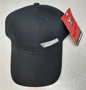 OEM Polaris Slingshot Sign Emblem Black Adjustable Cap Hat 2865052 - NEW