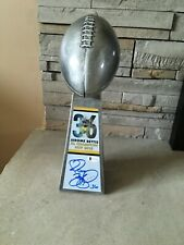 """Jerome Bettis Signed Pittsburgh Steelers 15"""" Replica Lombardi Trophy Beckett - C"""