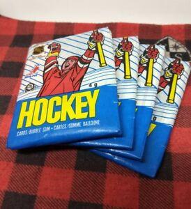 "Four (4) Original 1989/90 O-Pee-Chee Hockey ""Wax Packs"" lot - RC PSA 10's ????"