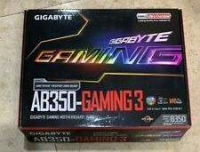 GIGABYTE GA-AB350-Gaming 3 Motherboard ATX DDR4 GA-AB350-GAMING 3