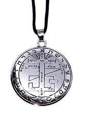 SOLOMON COLGANTE ÁRBOL DE LA VIDA hebreo en Ajustable Collar de cordón