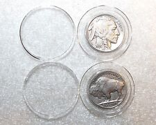 2 Airtite Direct Fit Coin Holder Capsules A21-Liberty Washington Buffalo Nickels