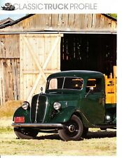 1937 FORD HALF-TON PLATFORM STAKE TRUCK ~ GREAT 4-PAGE ARTICLE / AD