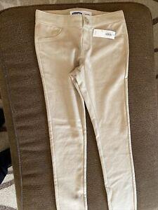 Old Navy Tan Leggings Pants Size 8 Tan School Uniforms