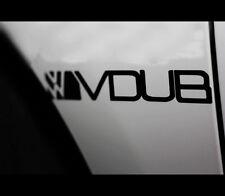 VW VDUB Euro Dub GTI Golf Vinyl Decal Sticker