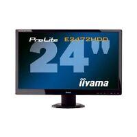 "Iiyama PL E2472HD 24"" WideScreen LED TFT Monitor HDMI DVI VGA ohne Standfuß"