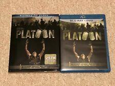 Platoon 25th Anniversary (Blu-ray/Dvd, Disc Set) with Slipcover - Brand New