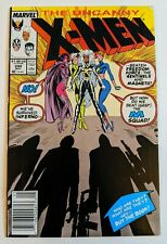The Uncanny X-Men #244 Marvel Comic 1989 Claremont 1st Appearance Of Jubilee