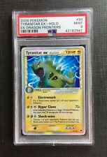 Pokemon PSA 9 Tyranitar Ex - Ex Dragon Frontiers #99/101 Mint