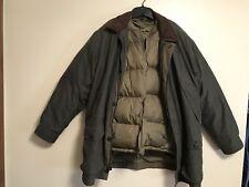Mens L.L. BEAN Adirondack Field Coat & Insulated Goose Down Parka Sz XL Reg