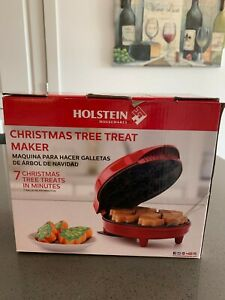 Holstein Housewares HF-09037R Non-Stick Christmas Treat Tree Maker