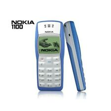 Phone Mobile Phone Nokia 1100 Blue Candybar Gsm Small Lightweight Refurbished