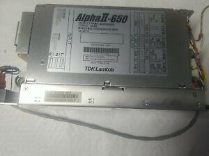 TDK-Lambda Alpha II-650 MV6500246A/B Power Supply w/ Wiring for Anritsu