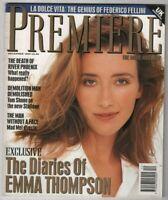 Premiere Mag Emma Thompson Diaries River Phoenix December 1993 100620nonr
