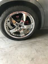 """255/45/R20 5x115 20"""" rims and tires. Set of four."""