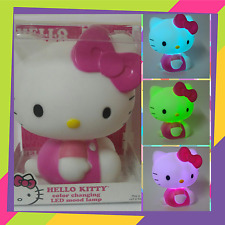 Hello Kitty LED Color Changing Night Light Portable Lamp Sanrio License