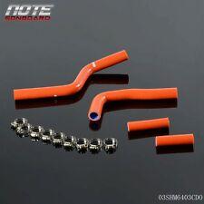Silicone Radiator Coolant Hose Pipe Kit For YAMAHA YZ125 03-08 04 05 06 DO