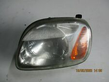 NISSAN MICRA K11 2002 NS PASSENGER SIDE FRONT LIGHT HEADLIGHT HEAD 260601F501