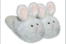 Softest CUTEST Bunny Slippers Adult 37 - 38 approx size 6 6.5 7 7.5 1/2 8
