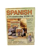 Learn Spanish in 10 Minutes a Day Complete Set - Workbook & Six CDs Language