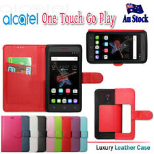 """For Alcatel OneTouch Go Play 5""""  PU Wallet Leather Flip Card Holder Case Cover"""