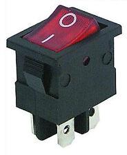 Wippenschalter 2-polig EIN/AUS 230V 6,5A