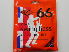 Rotosound RS66LD Swing Bass 66 Guitar Strings Stainless Steel Roundwound