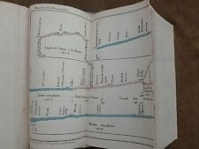 GUIDE OFFICIEL NAVIGATION INTERIEURE.itinéraires graphiques.carte voies FRANCE