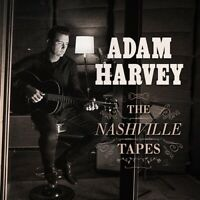ADAM HARVEY The Nashville Tapes (Personally Signed by Adam) CD NEW