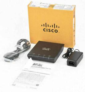 BRAND NEW Cisco ATA 187 Analog Telephone Adaptor VoIP Phone Adapter