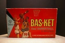 1968 CADACO INC. BAS-KET REAL BASKETBALL IN MINIATURE SPORTS TABLE TOP GAME