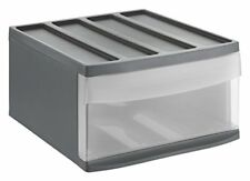 Rotho Schubladenbox L Systemmix Anthrazit 39 5x34x20 3 Cm 235025