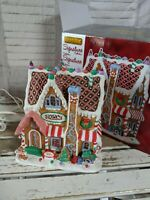 Lemax gingerbread house candy chalet village Xmas holiday 2014 building