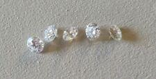 5 diamants naturels VVS/E 2,65mm 5 natural diamonds VVS/E 2,65mm