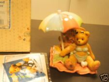 Cherished Teddies _ Judy - I'm your bathing beauty - girl in bikini on picnic