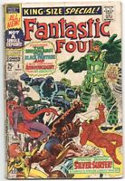 Fantastic Four Annual 5 Marvel 1971 GD VG 1st Psycho Man Black Panther Inhumans