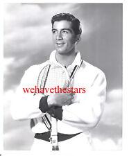 Vintage Ray Danton SEXY QUITE HANDSOME '60 TENNIS Publicity Portrait