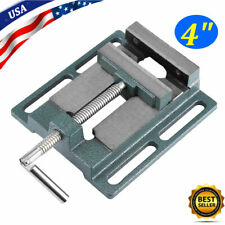 4'' Heavy Duty Drill Press Vice Bench Clamp Vise Milling Drilling Machine