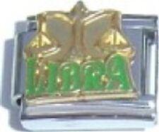 Libra Horoscope Zodiac 9mm Italian Charm Fits Standard Bracelet