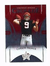 Carson Palmer 2004 Leaf Rookies & Thread, Crusade, (Red), 506/1250!!!
