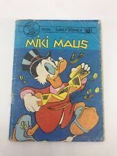 MICKEY MOUSE #8 - 70s - Foreign Comic Book - MEGA RARE - WALT DISNEY - 5.0 VG/FN