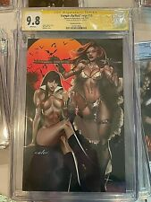 Vampirella/Red Sonja #10 Celal Koc Paralel Evren Virgin Edition CGC SS 9.8