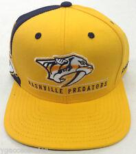 NHL Nashville Predators Reebok Snap-Back Cap Hat Style   NF92Z NEW! 7f972450d1