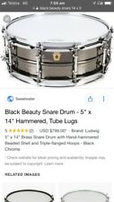 Legendary Ludwig Black Beauty (excellent condition)