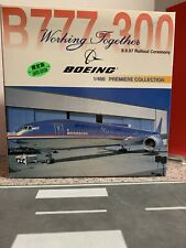 Dragon Wings 1:400 scale Diecast model B777-300 8.9.97 Rollout Ceremony