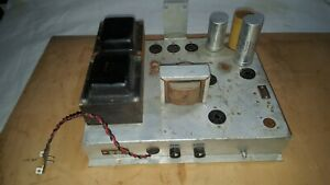 Lowrey SS-25 Lincolnwood Organ TUBE Power Amplifier 7591 12AX7 P77116 P77117 TR