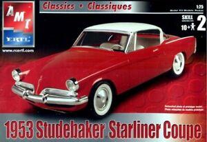1:25 AMT ERTL 1953 Studebaker Starliner Coupe #31759-1H Plastic Model Kit