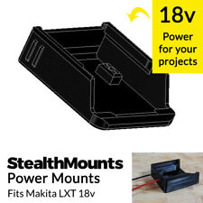 Stealth Mounts PowerMounts for Makita LXT 18v Battery Terminals Connector Wire