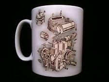 wolseley WD Cutaway/ Exploded View Stationary Engine Gift Mug