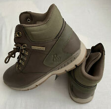 New Rocawear Bryant Mens D-Ring Lace-Up Hiker Boots Shoes Size: 10 Brown